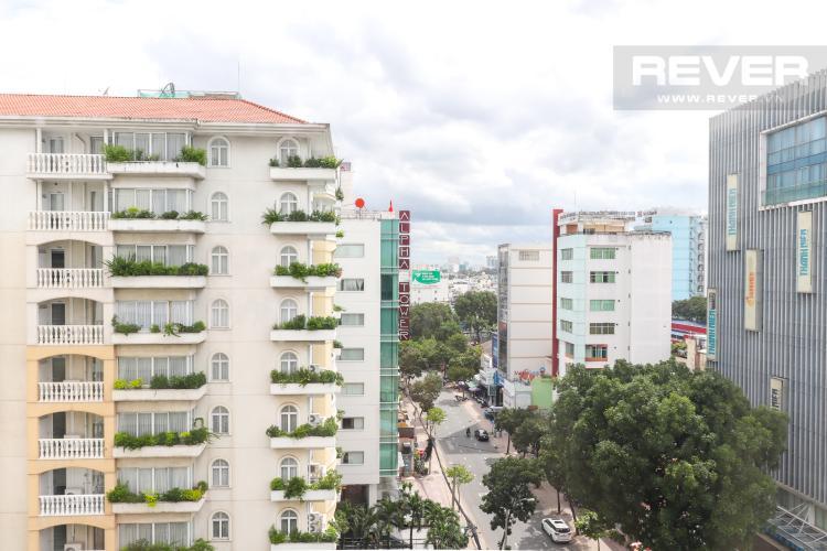 View Phòng Khách Cho thuê căn hộ Saigon Pavillon 3PN, diện tích 94m2, đầy đủ nội thất, view đường Bà Huyện Thanh Quan