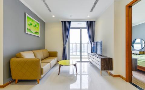 Căn hộ Vinhomes Central Park tầng cao Landmark 2 đầy đủ nội thất
