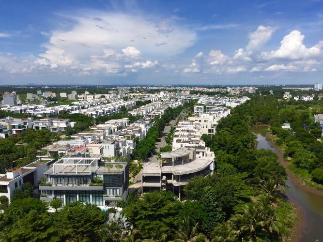 View Safira Khang Điền, Quận 9 Căn hộ Safira Khang Điền view biệt thự, hướng Tây Nam.