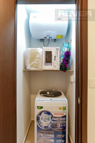 Phòng Giặt Căn hộ Masteri Millennium tầng trung, 2PN đầy đủ nội thất