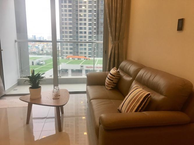 Cho thuê căn hộ Vinhomes Central Park tầng thấp, tháp Landmark 6, diện tích 47m2 - 1 phòng ngủ, đầy đủ nội thất