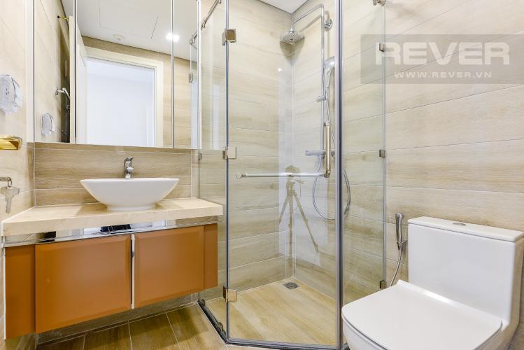 Phòng tắm 1 Căn hộ Vinhomes Golden River 2 phòng ngủ tầng trung A4 nhà trống