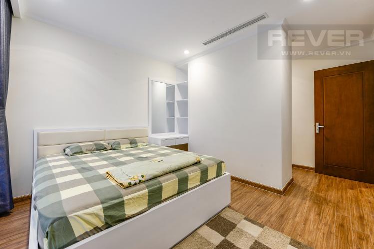 Phòng ngủ 1 Căn hộ Vinhomes Central Park 3 phòng ngủ tầng trung L5 nội thất đẹp