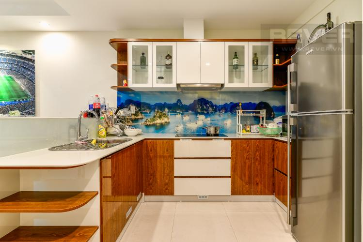 Nhà Bếp Cho thuê căn hộ The Gold View tầng cao, view đẹp, 2PN đầy đủ nội thất