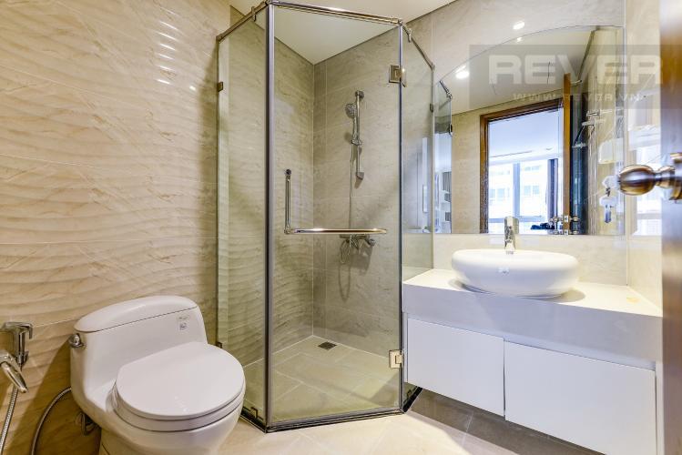 Phòng tắm 2 Căn hộ Vinhomes Central Park 2 phòng ngủ tầng cao L4 hướng Đông Bắc