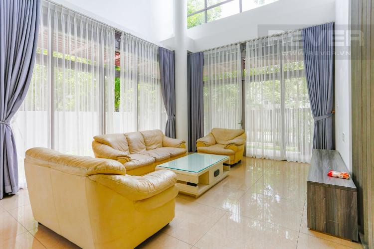 Phòng Khách Biệt thự nghỉ dưỡng 5 phòng ngủ Riviera Cove Quận 9