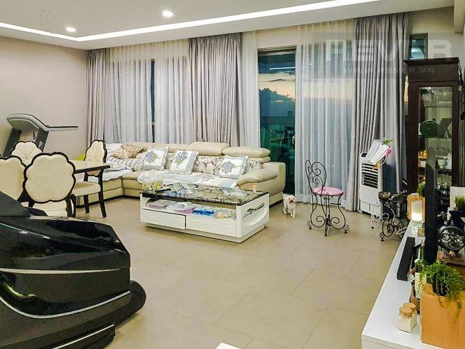 Phòng Khách Bán căn hộ Riviera Point 3PN, tầng cao, tháp T4, đầy đủ nội thất, hướng Tây Nam vượng khí