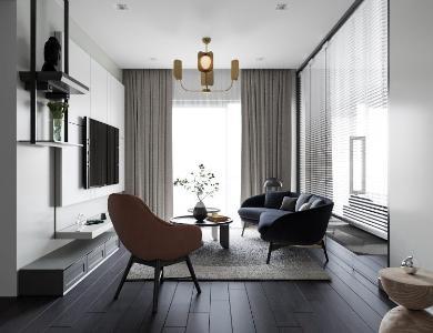 Căn hộ Feliz En Vista tầng cao nội thất cơ bản, view thành phố.