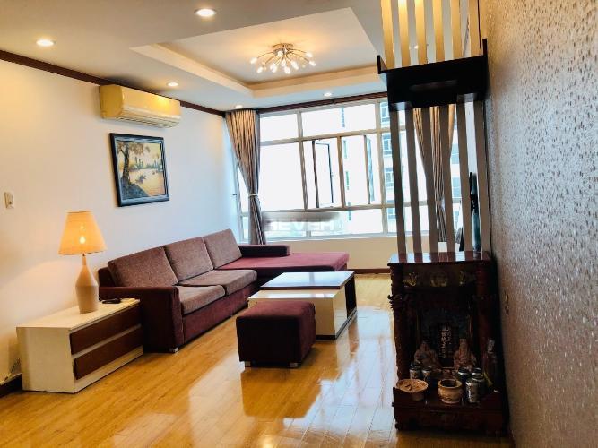 Phòng khách chung cư Chánh Hưng - Giai Việt Căn hộ chung cư Chánh Hưng - Giai Việt tầng trung, view nội khu.