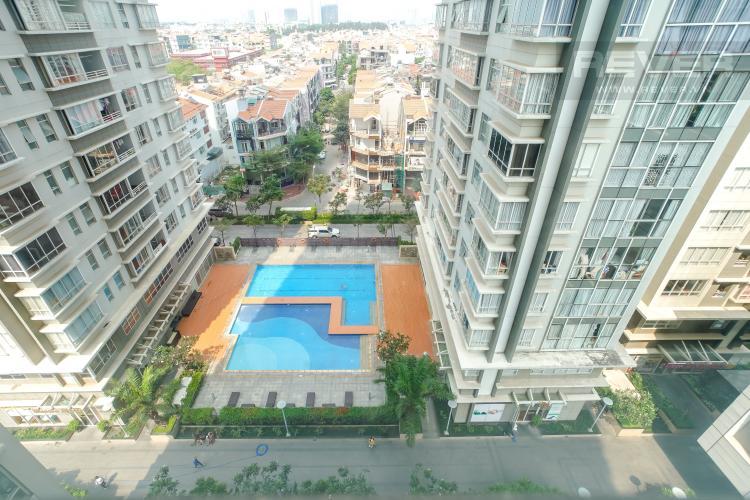 View căn hộ SUNRISE CITY Bán hoặc cho thuê căn hộ Sunrise City 3PN, tháp V4 khu South, đầy đủ nội thất, view nội khu yên tĩnh