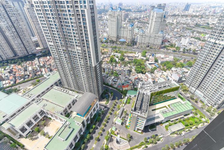 View căn hộ VINHOMES CENTRAL PARK Bán hoặc cho thuê căn hộ Vinhomes Central Park 1PN, tầng cao, đầy đủ nội thất, view nội khu và thành phố