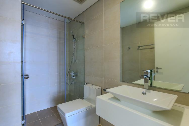 Phòng Tắm 1 Cho thuê căn hộ Masteri Millennium tầng cao 2PN đầy đủ nội thất view sông