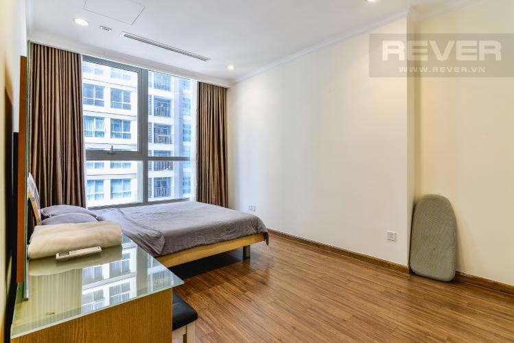 Phòng Ngủ Căn hộ Vinhomes Central Park 1 phòng ngủ tầng cao L5 đầy đủ nội thất