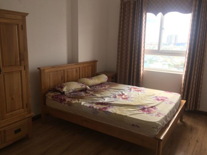 Phòng ngủ căn hộ Copac Square, Quận 4 Căn hộ Copac Square nội thất đầy đủ hiện đại, ban công Đông Nam.