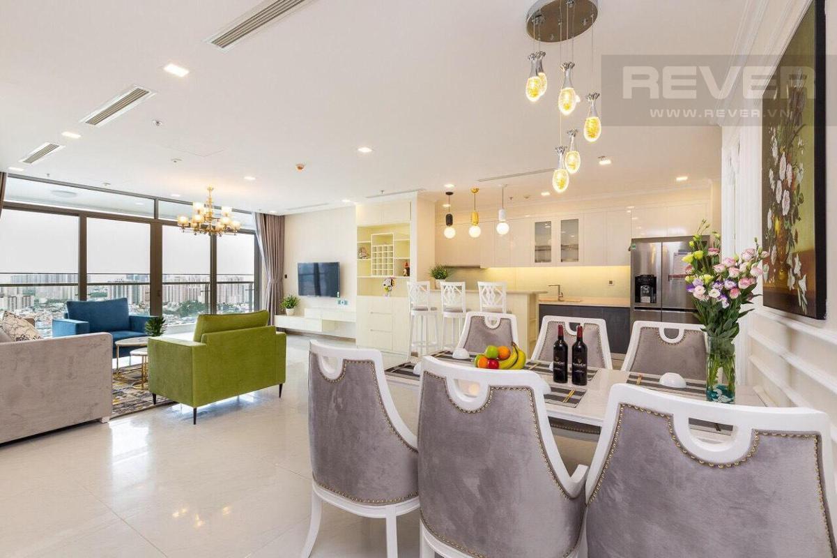 badb7699889a6ec4378b Bán hoặc cho thuê căn hộ Vinhomes Central Park 4PN, tháp Park 3, đầy đủ nội thất, hướng Đông, view sông Sài Gòn và công viên trung tâm