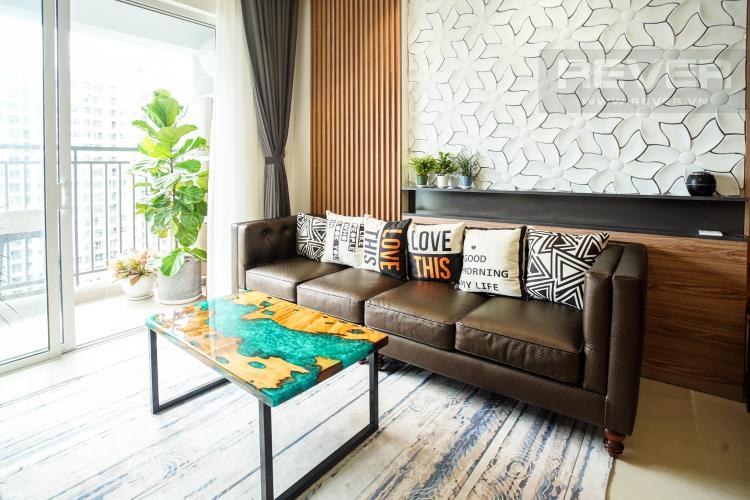 Phòng Khách Cho thuê căn hộ Sunrise Riverside 3PN, tầng trung, đầy đủ nội thất, hướng Đông đón gió