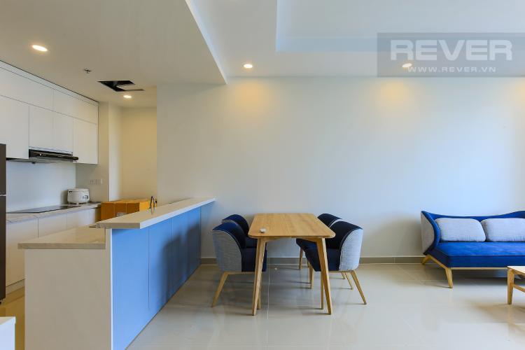 Bàn Ăn Căn hộ The Tresor 2 phòng ngủ tầng cao TS1 đầy đủ nội thất