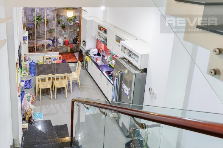 Không Gian Bếp & Phòng Ăn Nhà phố 1 trệt, 3 lầu, 4 phòng ngủ có sân thượng hẻm đường Nguyễn Thiện Thuật