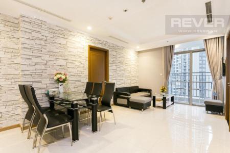 Cho thuê căn hộ Vinhomes Central Park 3PN, tháp Landmark 2, đầy đủ nội thất, hướng Tây Nam