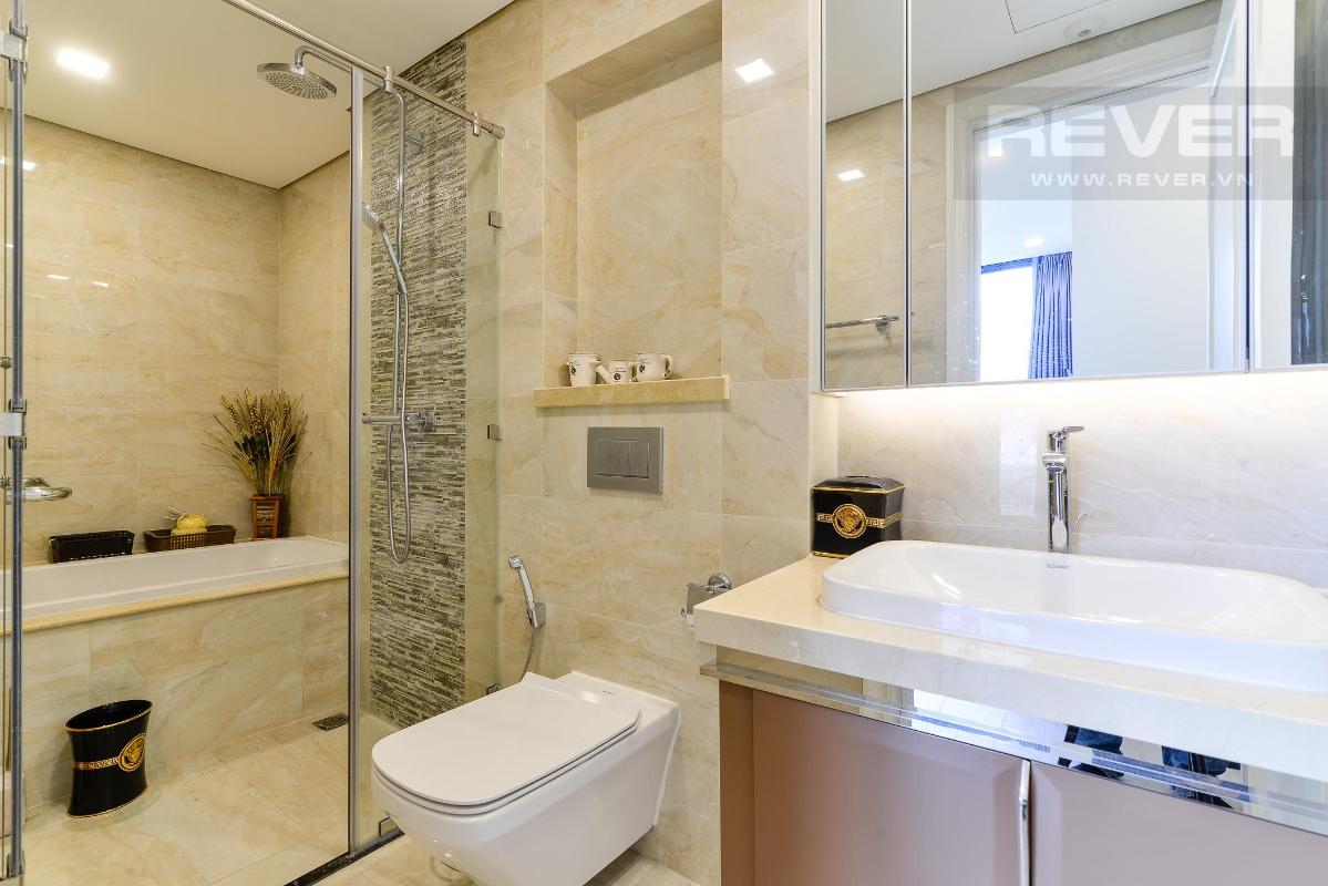 8 Cho thuê căn hộ Vinhomes Golden River 2PN, tầng thấp, đầy đủ nội thất, view sông và Landmark 81