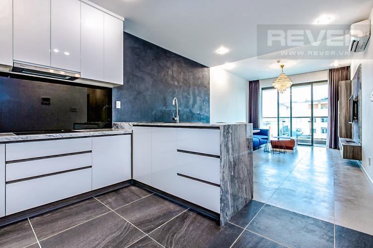 Phòng Bếp Bán căn hộ The Gold View 2PN, tầng trung, tháp A, đầy đủ nội thất