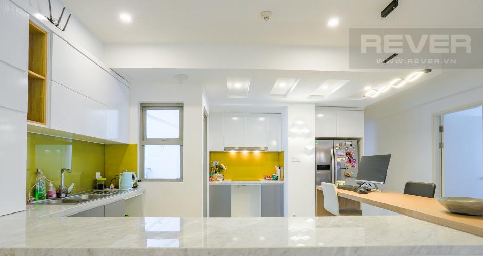 Phòng Bếp Căn hộ Riviera Point 3PN nội thất đầy đủ, có thể dọn vào ở ngay