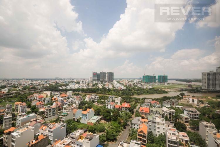 View Bán căn hộ The Sun Avenue 2PN, tầng trung, block 4, hướng Đông Bắc đón gió