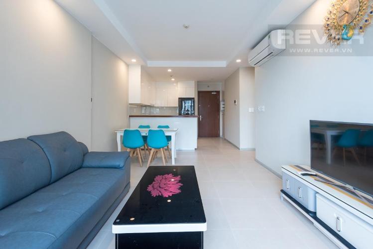 Cho thuê căn hộ The Gold View 2PN, tầng cao, đầy đủ nội thất, ban công Đông Nam