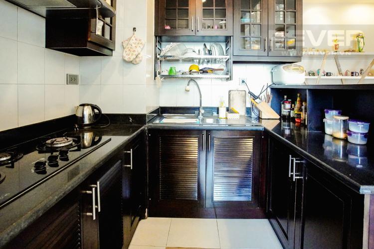 Phòng Bếp Căn hộ Chung cư Phú Mỹ tầng cao, 3PN, nội thất đầy đủ, view hồ bơi