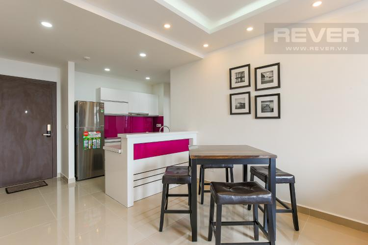 Phòng Bếp Căn hộ The Tresor 2 phòng ngủ tầng cao TS1 nội thất đầy đủ