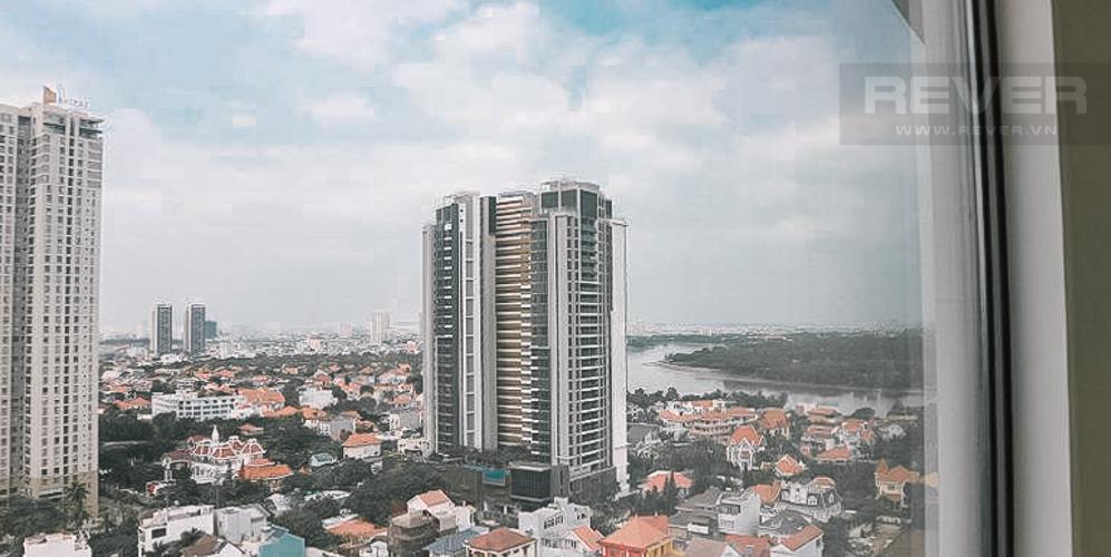 View căn hộ GATEWAY THẢO ĐIỀN Bán hoặc cho thuê căn hộ Gateway Thảo Điền 2PN, tầng 18, nội thất cơ bản, view sông và Xa lộ Hà Nội