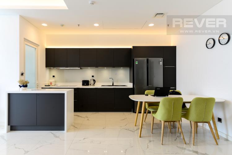 Bếp Bán hoặc cho thuê căn hộ Sarina Condominium 3PN, tầng thấp, đầy đủ nội thất, diện tích 127m2