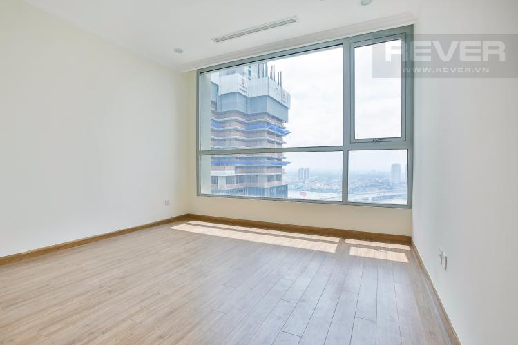 Phòng ngủ 1 Căn hộ Vinhomes Central Park tầng cao hướng Đông Bắc tháp Landmark 2