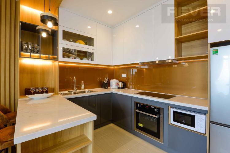 Bếp Cho thuê căn hộ Diamond Island - Đảo Kim Cương 1PN, tháp Canary, đầy đủ nội thất, view sông thoáng mát