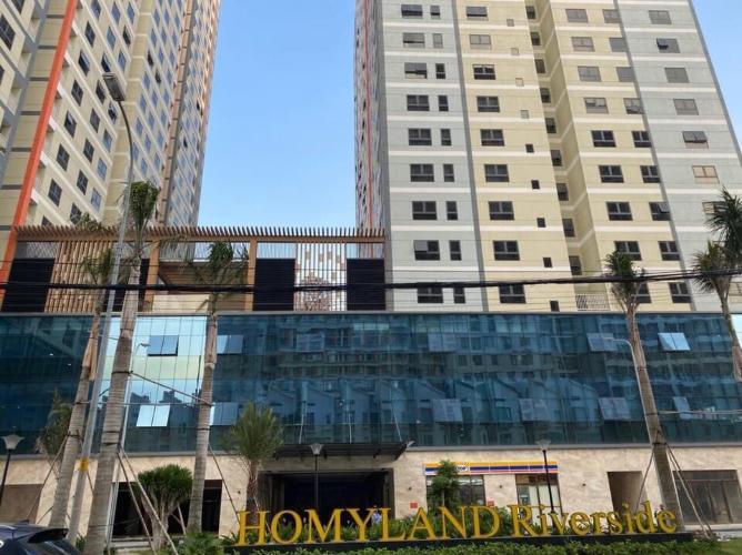 Homyland Riverside, Quận 2 Căn hộ Homyland Riverside tầng tủng, cửa chính hướng Tây.
