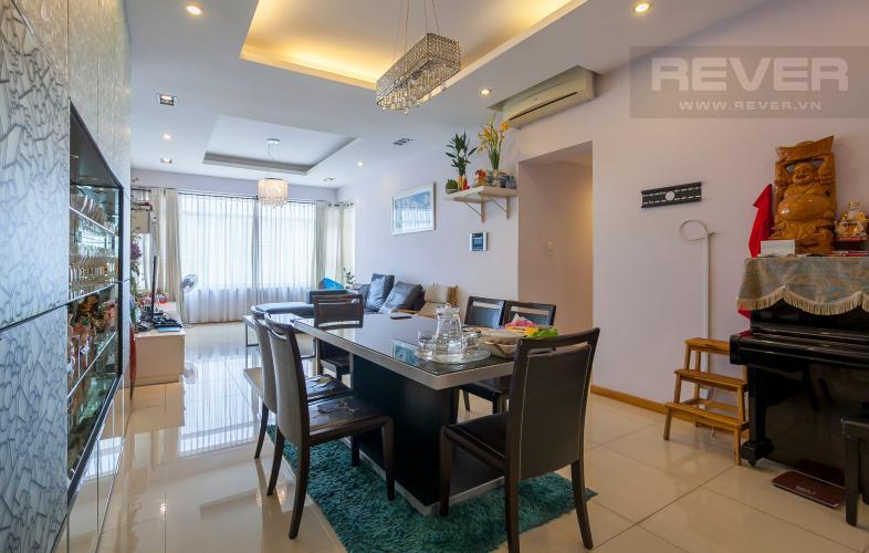 Bàn Ăn Căn hộ Saigon Pearl 3 phòng ngủ tầng cao Sapphire đầy đủ nội thất