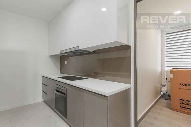Phòng Bếp Căn hộ Masteri Millennium tầng cao block B, 2PN, nội thất đầy đủ, view kênh