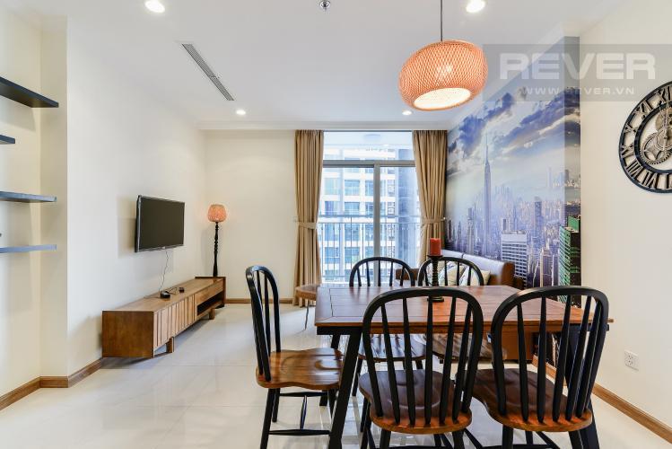 Tổng Quan Căn hộ Vinhomes Central Park 1 phòng ngủ tầng cao Landmark 1