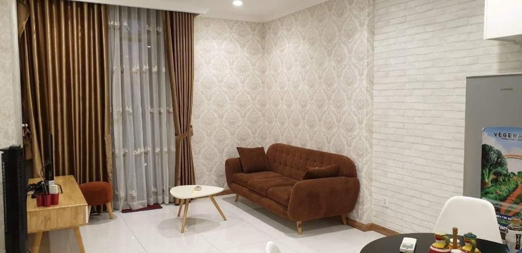 Phòng khách căn hộ VINHOMES CENTRAL PARK Bán căn hộ Vinhomes Central Park 1PN, đầy đủ nội thất, view nội khu