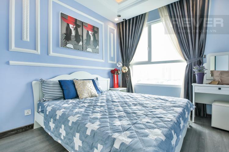 Phòng Ngủ 1 Căn hộ Vista Verde tầng trung tòa T2 nội thất đẹp nhà mới