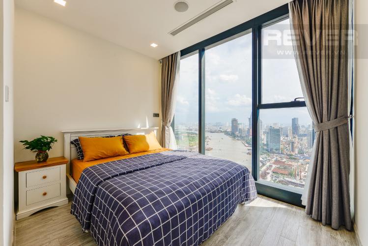 Phòng ngủ 1 Căn hộ Vinhomes Golden River tầng cao, tháp Aqua 3, 2 phòng ngủ, full nội thất
