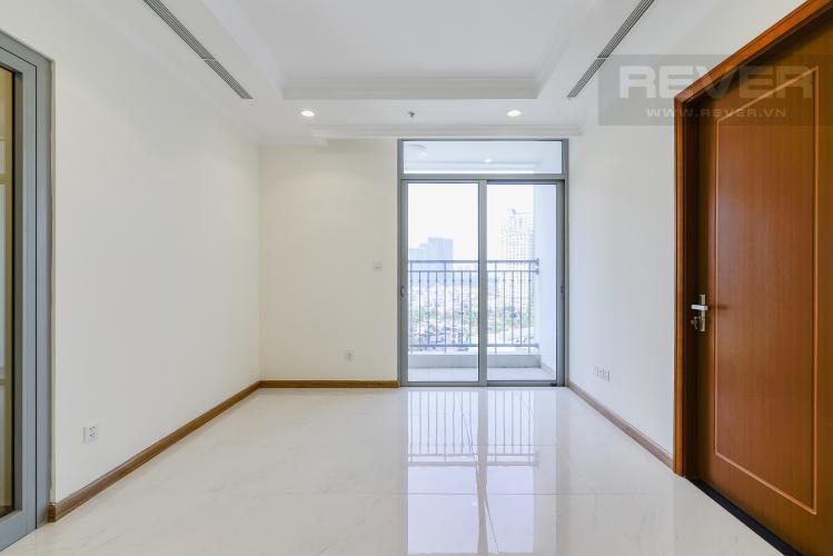 Phòng Khách Căn hộ Vinhomes Central Park 2 phòng ngủ tầng trung L2 view nội khu
