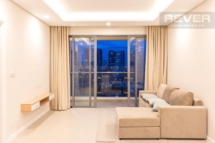 Phòng Khách Bán căn hộ Diamond Island - Đảo Kim Cương 2PN, tháp Canary, đầy đủ nội thất cao cấp