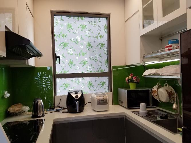 Phòng bếp căn hộ The Sun Avenue Bán căn hộ view thành phố - The Sun Avenue tầng cao, diện tích 96m2, đầy đủ nội thất.