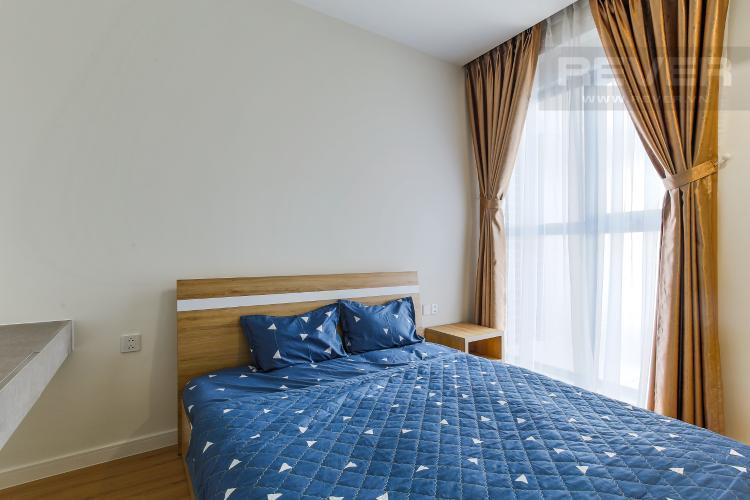 Phòng Ngủ 1 Căn hộ Masteri Millennium tầng cao, 2PN đầy đủ nội thất, view sông đẹp