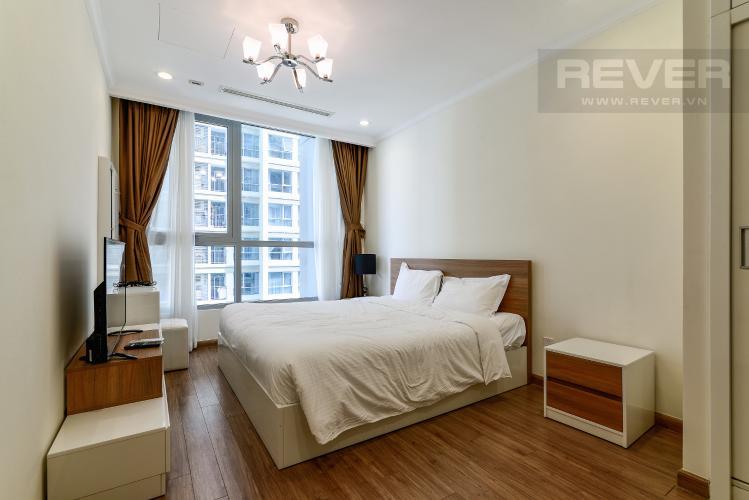 Phòng Ngủ 1 Căn hộ Vinhomes Central Park tầng trung, tháp Landmark 5, 2PN đầy đủ nội thất