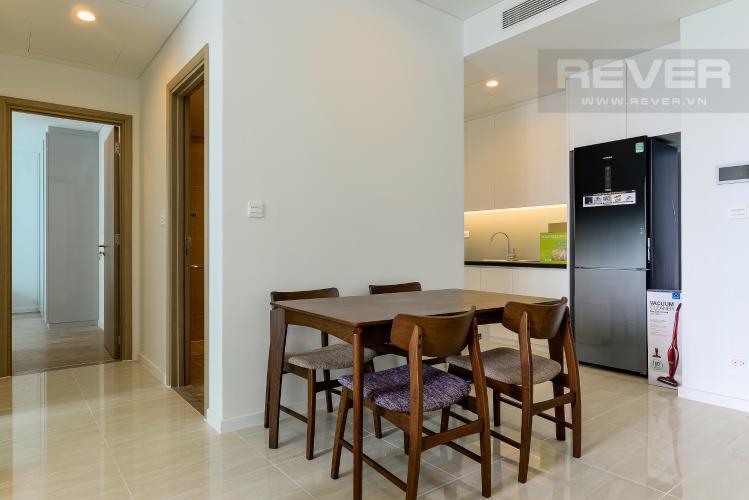 Phòng Ăn Cho thuê căn hộ Sadora Apartment 88m2 2PN 2WC, nội thất cao cấp, view hồ bơi