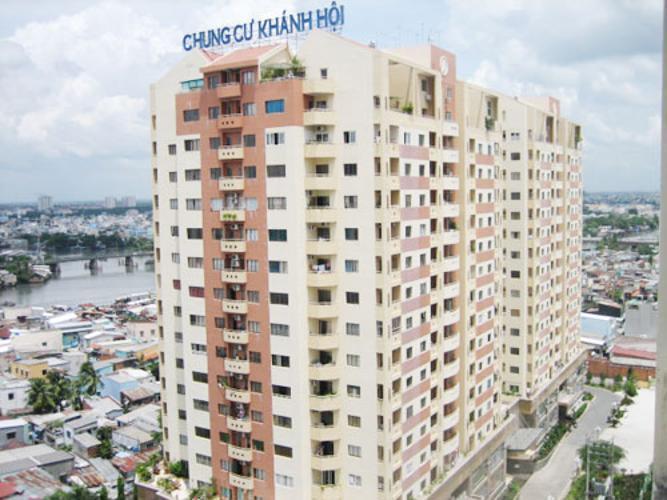 Chung cư Khánh Hội 1, Quận 4 Căn hộ chung cư Khánh Hội 1 tầng thấp, đầy đủ nội thất.
