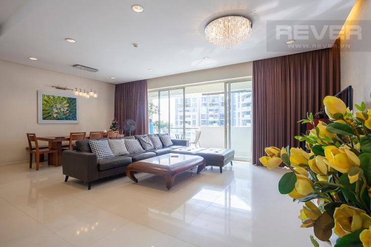 Tổng Quan Căn hộ The Estella Residence 3 phòng ngủ tầng trung 1A view nội khu