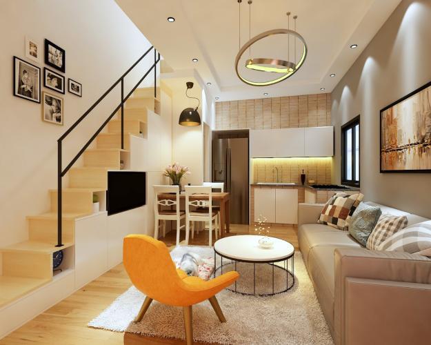 Bán nhà phố 2 tầng, đường Nguyễn Lâm, Q.Bình Thạnh, đầy đủ nội thất, sổ hồng chính chủ